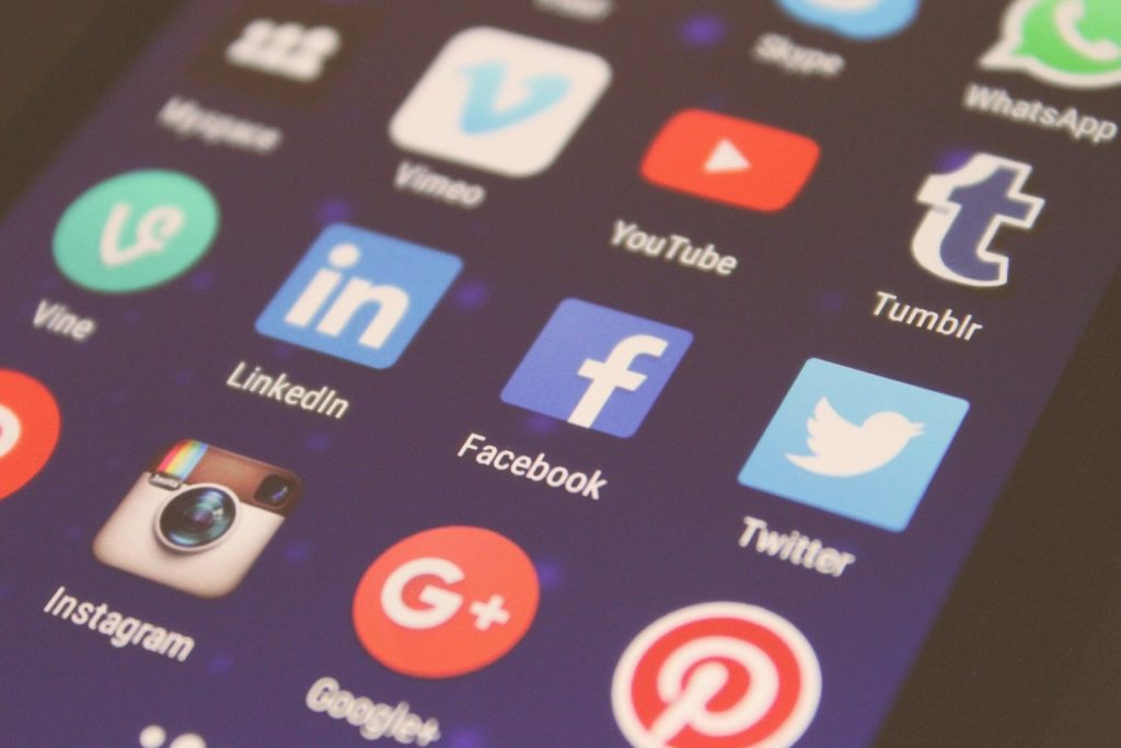 Clients will reach out using social media.